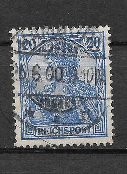 Deutsches Reich REICHSPOST 57 gestempelt (III)