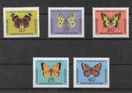 DDR 1004-1008 postfrisch