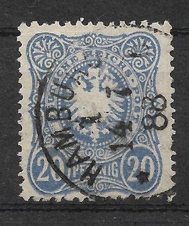 Deutsches Reich PFENNIG 42 Ic gestempelt (BPP WIEGAND) (VII)