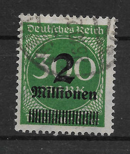 Deutsches Reich FREIMARKE 310 A gestempelt (INFLA) (3)