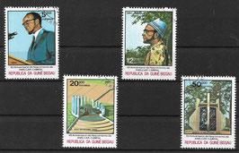 GUINEA-BISSAU 793-796 gestempelt