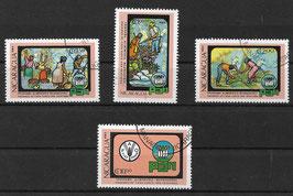NICARAGUA 2316-2319 gestempelt