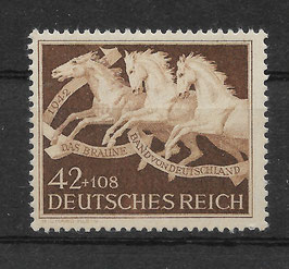 Deutsches Reich GALOPPRENNEN DAS BRAUNE BAND von DEUTSCHLAND 815 postfrisch (2)