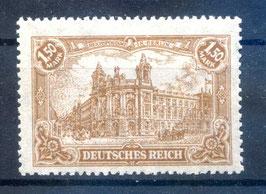 Deutsches Reich GERMANIA 114a ungebraucht (BPP BAUER)