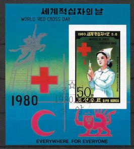 Nordkorea Block 71 gestempelt (2)