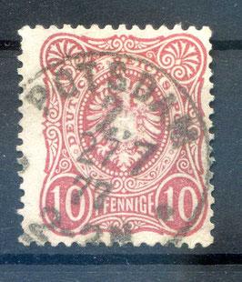 Deutsches Reich PFENNIGE 33a gestempelt (BPP JÄSCHKE) (3)
