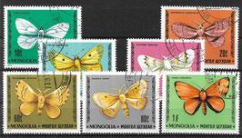 MONGOLEI 1099-1105 gestempelt