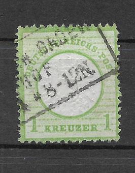 Deutsches Reich BRUSTSCHILD 23a gestempelt (BPP KRUG) (11)