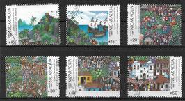NICARAGUA 2823-2828 gestempelt