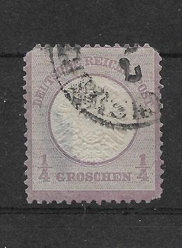 Deutsches Reich BRUSTSCHILD 16 gestempelt (BPP KRUG) (7)