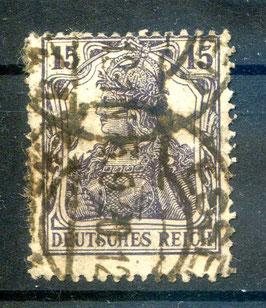 Deutsches Reich GERMANIA 101a gestempelt (BPP BAUER) (2)