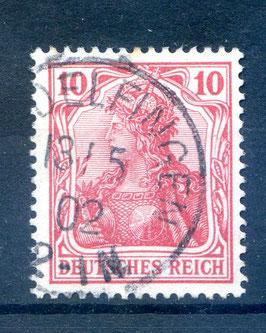 Deutsches Reich GERMANIA o. WZ 71 gestempelt (II)