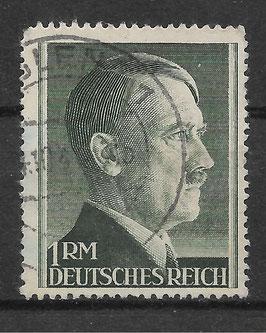 Deutsches Reich FREIMARKE ADOLF HITLER 799 A gestempelt (4)