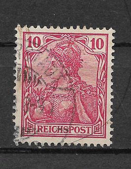Deutsches Reich REICHSPOST 56a gestempelt (BPP JÄSCHKE) (II)