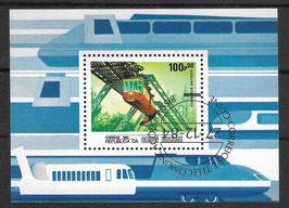 GUINEA-BISSAU Block 262 gestempelt