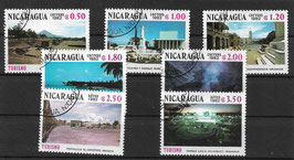 NICARAGUA 2307-2313 gestempelt