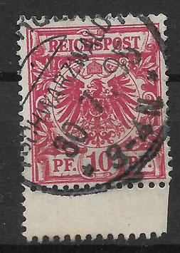 Deutsches Reich KRONE & ADLER 47d ZS gestempelt (BPP WIEGAND) (3)