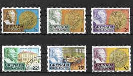 GRENADA/GRENADINEN 260-265 gestempelt