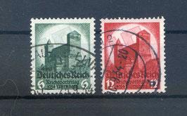 Deutsches Reich REICHSPARTEITAG 546-547 gestempelt (2)