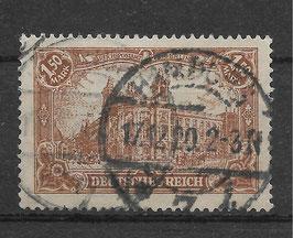 Deutsches Reich GERMANIA 114a gestempelt (BPP BAUER) (6)