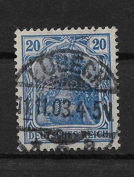 Deutsches Reich GERMANIA 72a gestempelt (BPP JÄSCHKE) (II)