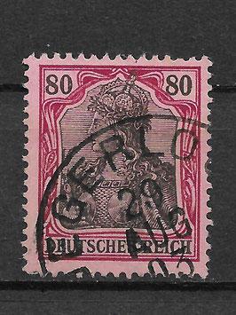 Deutsches Reich GERMANIA 77 gestempelt