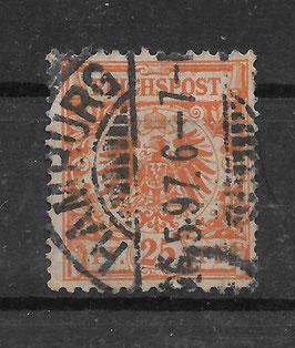 Deutsches Reich KRONE & ADLER 49b gestempelt (BPP WIEGAND) (3)