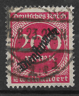 Deutsches Reich DIENST 78 gestempelt