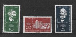 DDR 545-547 postfrisch