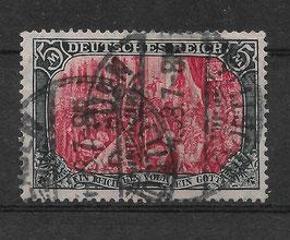 Deutsches Reich GERMANIA 97 A Ia gestempelt (BPP JÄSCHKE)