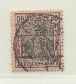 Deutsches Reich GERMANIA o. WZ 76 gestempelt (IV)