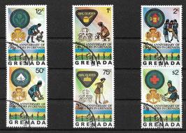 GRENADA 758-763 gestempelt