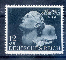 DR HELDENGEDENKTAG 812 postfrisch