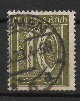 Deutsches Reich FREIMARKE 159a gestempelt (INFLA)