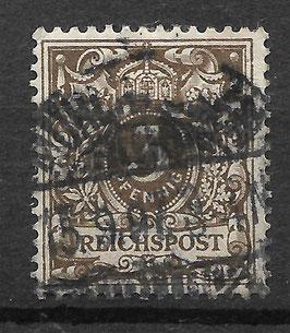 Deutsches Reich KRONE/ADLER 45b gestempelt (BPP WIEGAND) (II)