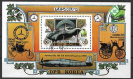 Nordkorea Block 96 gestempelt