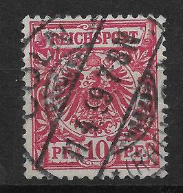Deutsches Reich KRONE/ADLER 47d gestempelt (BPP JÄSCHKE) (II)