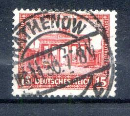 Deutsches Reich NOTHILFE BAUWERKE 451 gestempelt