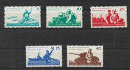 DDR 876-880 postfrisch