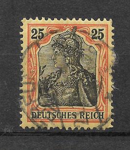 Deutsches Reich GERMANIA 88 I gestempelt (BPP JÄSCHKE) (IV)