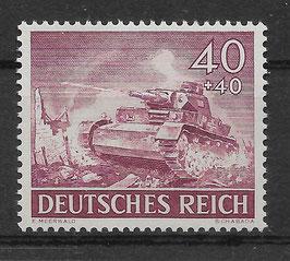 DR TAG der WEHRMACHT 841x postfrisch