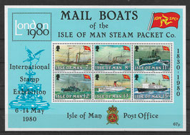 Isle of Man Block 3 postfrisch (2)