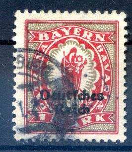 Deutsches Reich FREIMARKE 129 gestempelt