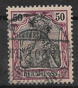Deutsches Reich REICHSPOST 61 gestempelt (3)