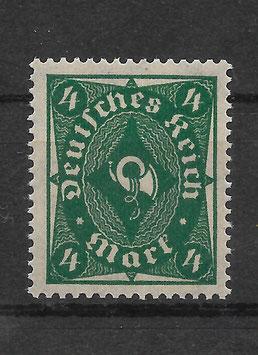 Deutsches Reich FREIMARKE POSTHORN 226a postfrisch (INFLA)
