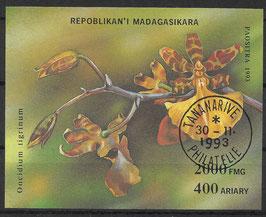 MADAGASKAR Block 239 gestempelt