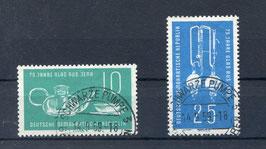 DDR 713-714 gestempelt
