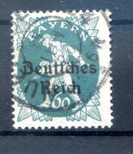 Deutsches Reich  FREIMARKE 126 gestempelt