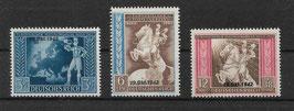 Deutsches Reich POST- und FERNMELDEVEREIN 823-825 postfrisch (3)