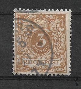 Deutsches Reich KRONE/ADLER 45c gestempelt (BPP WIEGAND)
